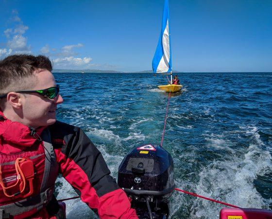 RYA Safety Boat 2018