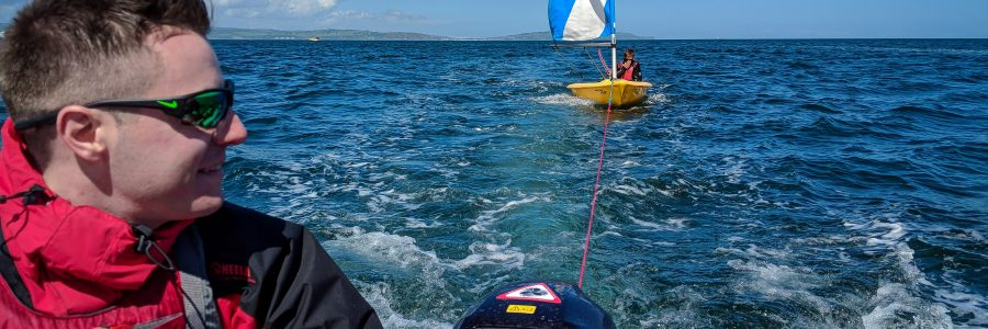 RYA Safety Boat 2018