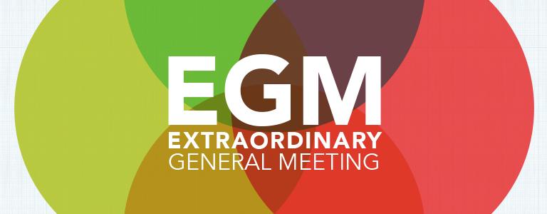 "Extraordinary General Meeting (""EGM"")"