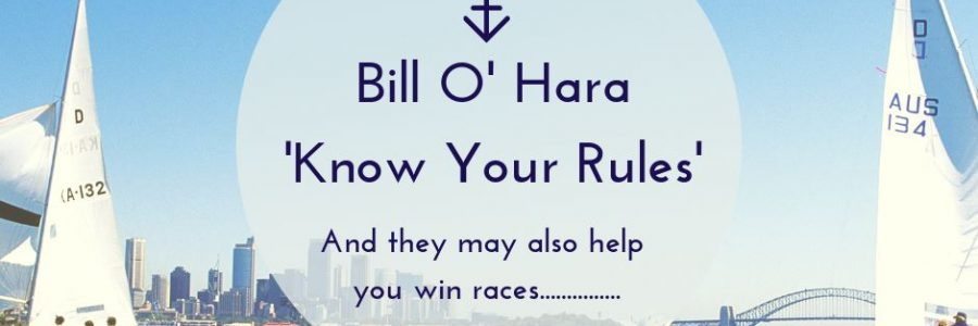 Bill O' Hara 'Know your Rules'