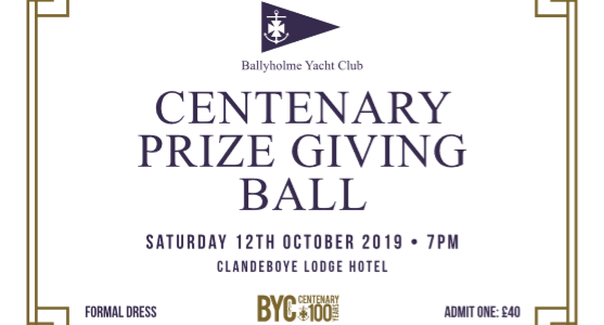 Centenary Prize Giving Ball