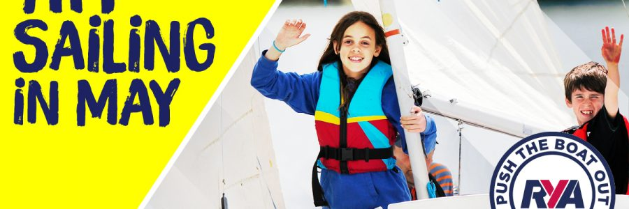 Try Sailing in May with PTBO