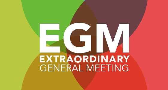 "Extraordinary General Meeting (""EGM"")"