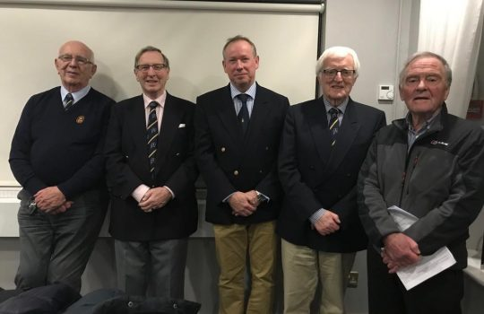 New Commodore and committees for 2019