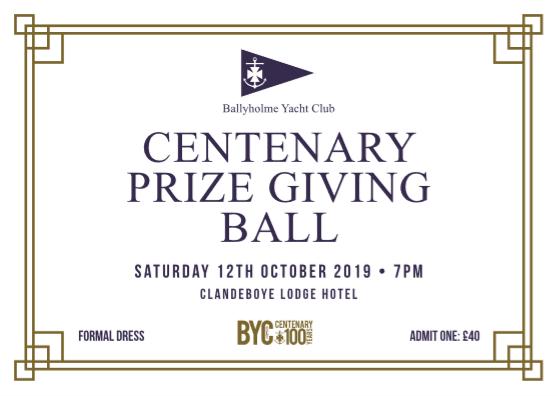 Centenary Prize Giving Ball