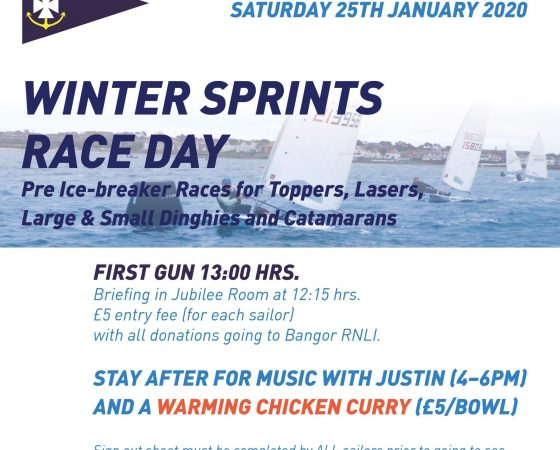 Winter Sprints 25th January 2020