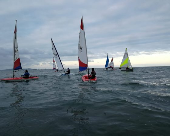 Cadets Return to Sailing Session Saturday 18th July 2020