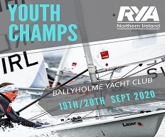 Youth Championships Ballyholme Yacht Club 19th & 20th September