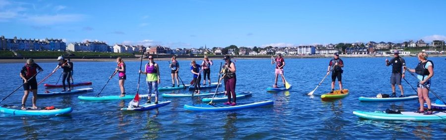 Wednesday Night Social SUP Training 14th April