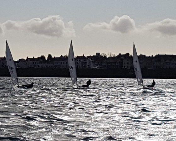 Cadet Laser Sailing Session Sunday 22nd November
