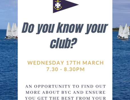 Getting to Know Your Club – Wednesday 17th March